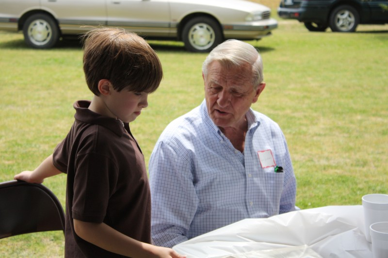 BRUCE JACKSON AND GRANDSON