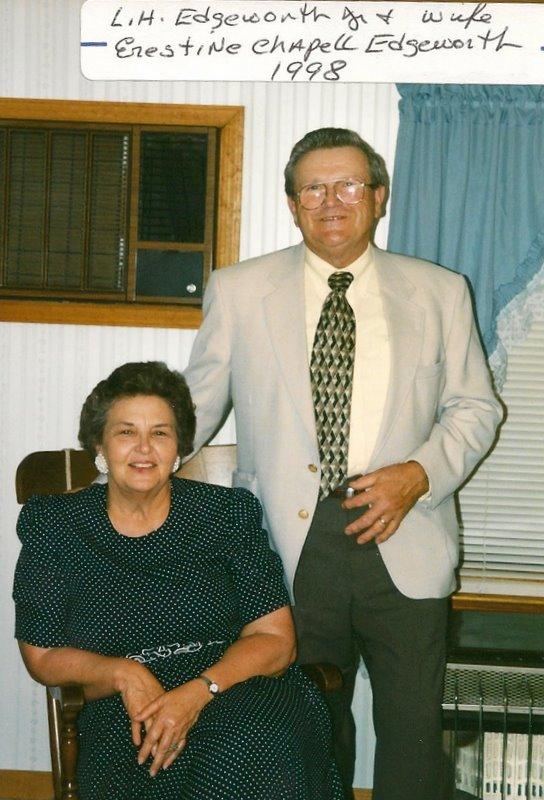 ERESTINE CHAPELL AND LH EDGEWORTH JR..